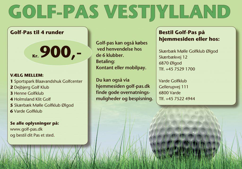 A11 samarbejdet mv. - Skærbæk Mølle Golfklub Ølgod